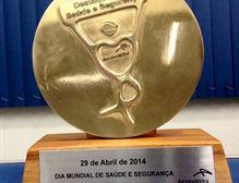 Premiação no Dia Mundial de Saúde e Segurança