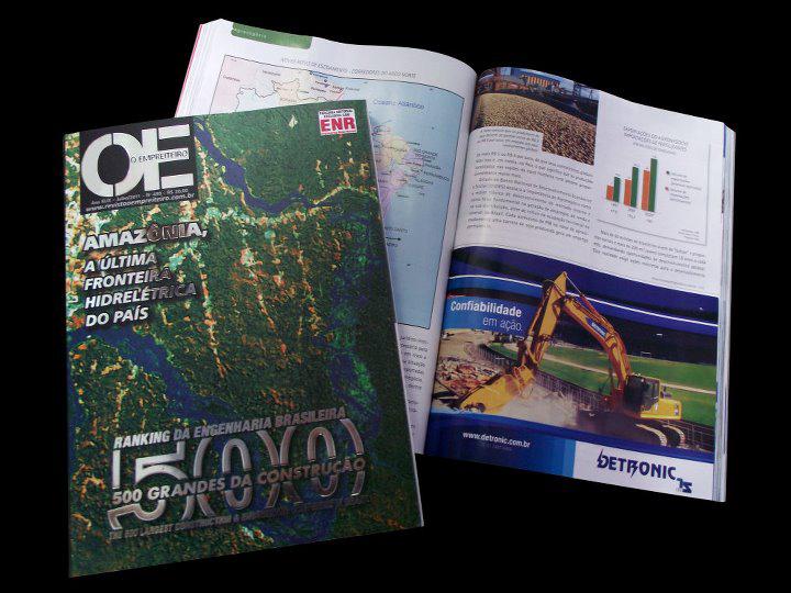 Revista O Empreiteiro 2011 - Ranking da Engenharia Brasileira - 500 Grandes da Construção