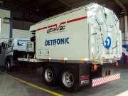 Caminhão de sucção (Ultavac)